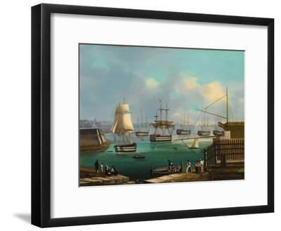 Plymouth--Framed Giclee Print