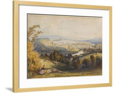 Exeter from Exwick, 1773-William Havell-Framed Giclee Print