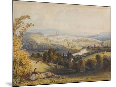 Exeter from Exwick, 1773-William Havell-Mounted Giclee Print