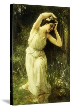 A Nymph in the Forest-Charles Amable Lenoir-Stretched Canvas Print
