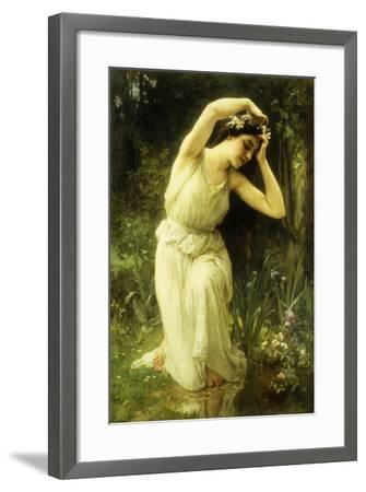 A Nymph in the Forest-Charles Amable Lenoir-Framed Giclee Print