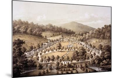 White Sulphur Springs, Montgomery County, from 'Album of Virginia', 1858-Edward Beyer-Mounted Giclee Print