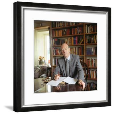 William Trevor, 1983--Framed Photographic Print