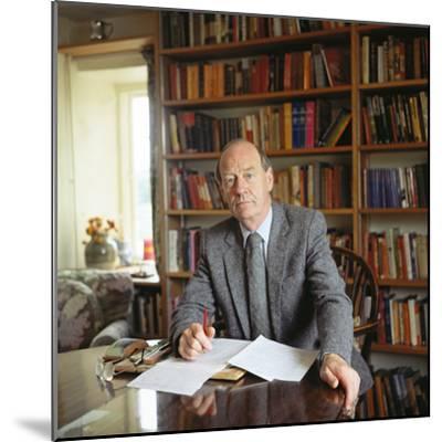 William Trevor, 1983--Mounted Photographic Print
