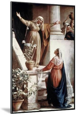 The Visitation-Carl Bloch-Mounted Giclee Print