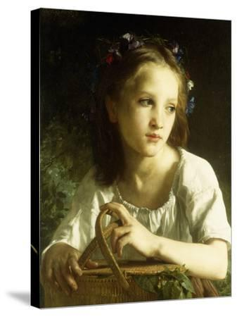 La Petite Ophelie, 1875-William Adolphe Bouguereau-Stretched Canvas Print