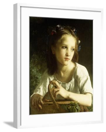 La Petite Ophelie, 1875-William Adolphe Bouguereau-Framed Giclee Print