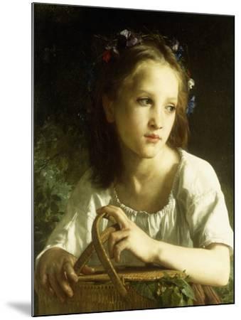 La Petite Ophelie, 1875-William Adolphe Bouguereau-Mounted Giclee Print