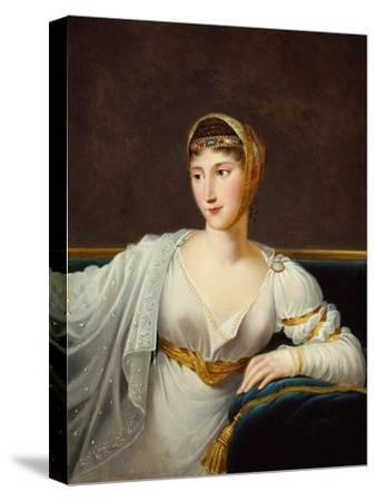 Portrait of Princess Pauline Borghese, Wife of General Leclerc-Robert Lefevre-Stretched Canvas Print