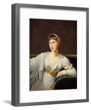 Portrait of Princess Pauline Borghese, Wife of General Leclerc-Robert Lefevre-Framed Giclee Print