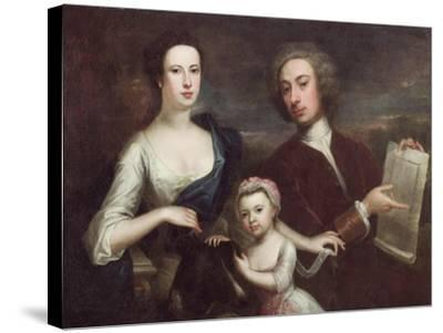 Portrait of Richard Boyle and Dorothy Savile-William Aikman-Stretched Canvas Print