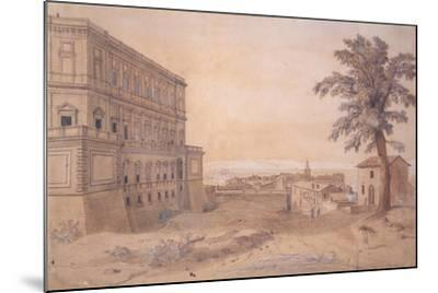 The Palazzo Farnese at Caprarola-Gaspar van Wittel-Mounted Giclee Print