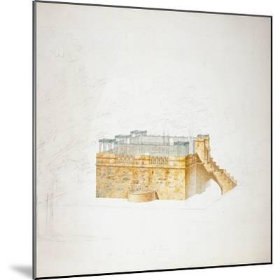 Queen Mary's Bower, Chatsworth-Sir Jeffry Wyatville-Mounted Giclee Print