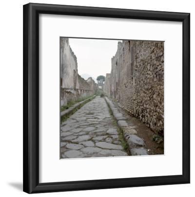 Pompeii Street--Framed Giclee Print