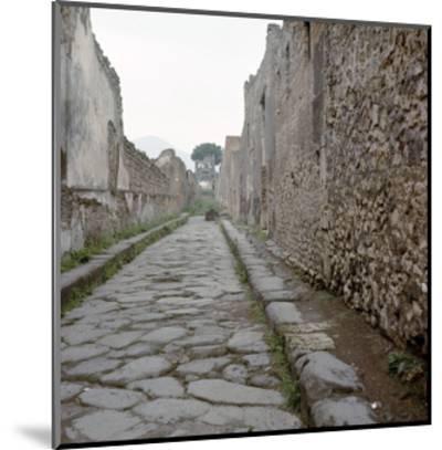 Pompeii Street--Mounted Giclee Print