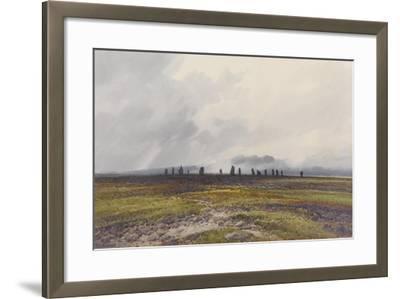 Sacred Circle, Mis Tor, Langstone Moor, Dartmoor , C.1895-96-Frederick John Widgery-Framed Giclee Print