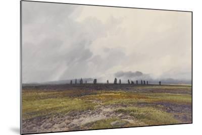Sacred Circle, Mis Tor, Langstone Moor, Dartmoor , C.1895-96-Frederick John Widgery-Mounted Giclee Print