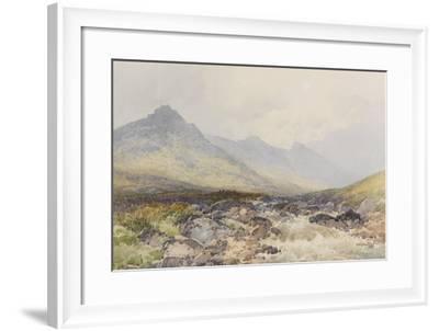 Tavy Cleave, Dartmoor , C.1895-96-Frederick John Widgery-Framed Giclee Print
