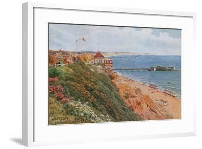 West Cliff, Bournemouth-Alfred Robert Quinton-Framed Giclee Print