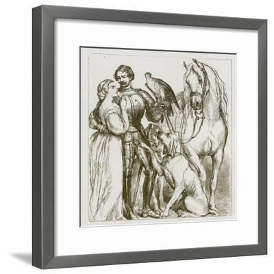 The Legend of Sir Guy-F. Tayler-Framed Giclee Print