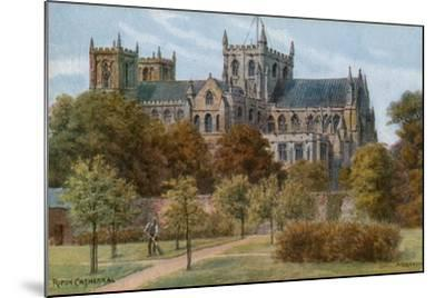 Ripon Cathedral-Alfred Robert Quinton-Mounted Giclee Print