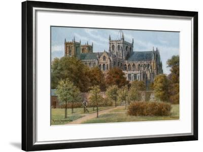 Ripon Cathedral-Alfred Robert Quinton-Framed Giclee Print