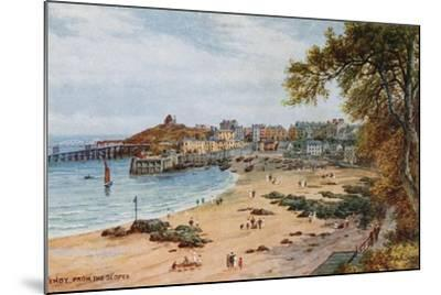 Tenby-Alfred Robert Quinton-Mounted Giclee Print