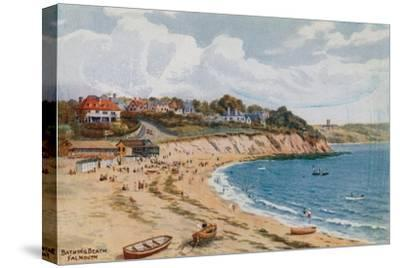 Bathing Beach, Falmouth-Alfred Robert Quinton-Stretched Canvas Print