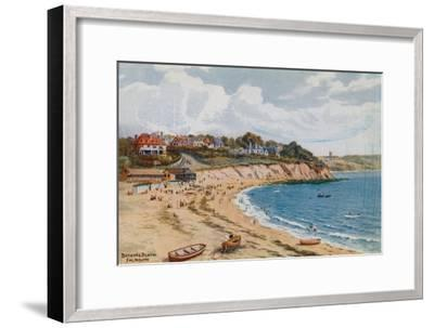 Bathing Beach, Falmouth-Alfred Robert Quinton-Framed Giclee Print