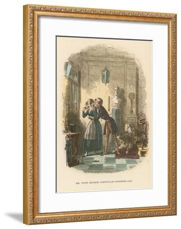 Illustration for Dombey and Son-Hablot Knight Browne-Framed Giclee Print
