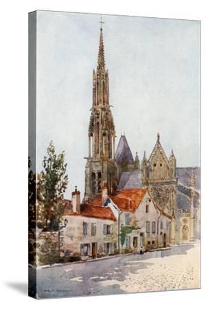 Senlis-Herbert Menzies Marshall-Stretched Canvas Print