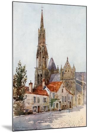 Senlis-Herbert Menzies Marshall-Mounted Giclee Print