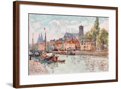 Soissons-Herbert Menzies Marshall-Framed Giclee Print