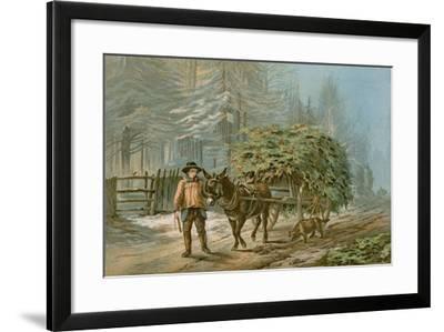 The Holly Cart-Edward Duncan-Framed Giclee Print