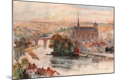 Poitiers-Herbert Menzies Marshall-Mounted Giclee Print