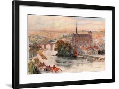Poitiers-Herbert Menzies Marshall-Framed Giclee Print