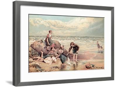 The Dead Sea-Bird-Myles Birket Foster-Framed Giclee Print
