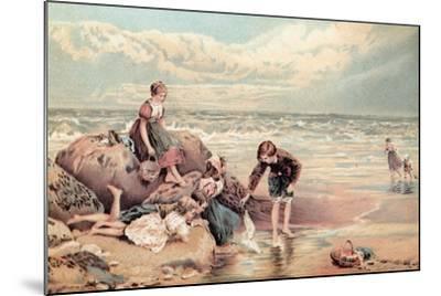 The Dead Sea-Bird-Myles Birket Foster-Mounted Giclee Print