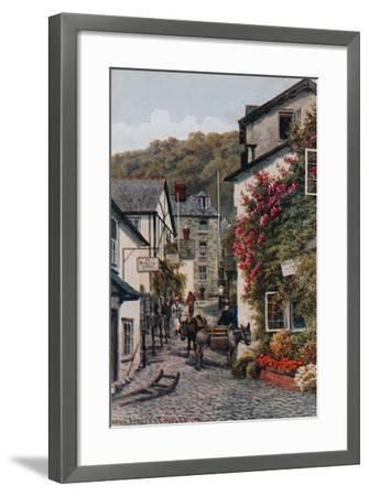 High Street, Clovelly-Alfred Robert Quinton-Framed Giclee Print