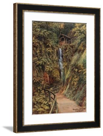 Shanklin Chine, Isle of Wight-Alfred Robert Quinton-Framed Giclee Print
