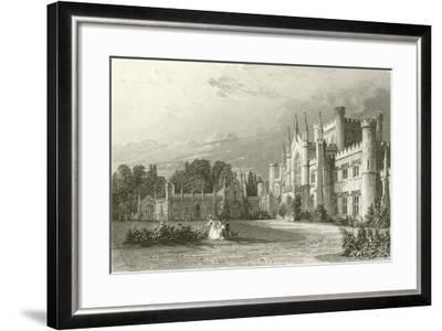 South View of Lowther Castle-Thomas Allom-Framed Giclee Print