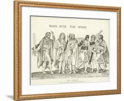 Irish Chieftains--Framed Giclee Print