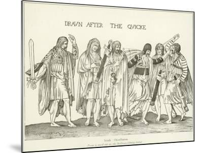 Irish Chieftains--Mounted Giclee Print