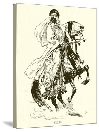 Saladin-Gordon Frederick Browne-Stretched Canvas Print