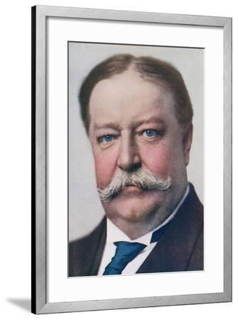 William Howard Taft, 1857 to 1930. 27th President of the United States. from the Wonderful Year…--Framed Giclee Print