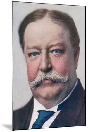 William Howard Taft, 1857 to 1930. 27th President of the United States. from the Wonderful Year…--Mounted Giclee Print