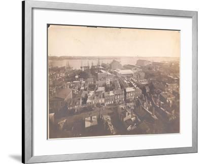 Panorama of Philadelphia, East-Southeast View, 1870--Framed Giclee Print