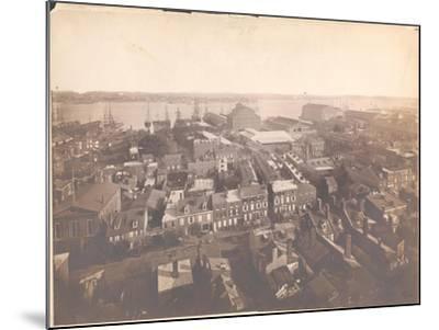 Panorama of Philadelphia, East-Southeast View, 1870--Mounted Giclee Print