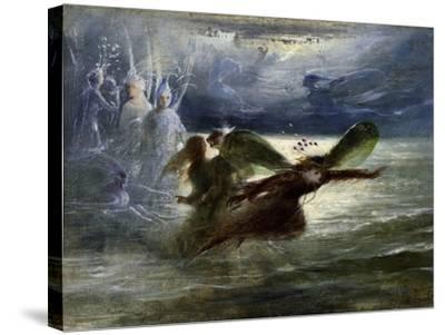 Sea Sprites, C.1870-John Anster Fitzgerald-Stretched Canvas Print