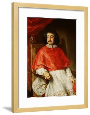 Portrait of Flavio Chigi-Jacob Ferdinand Voet-Framed Giclee Print